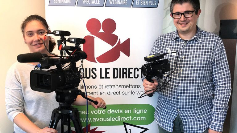 Karine Zaouia et Michel Zaouia, cofondateurs d'A VOUS LE DIRECT