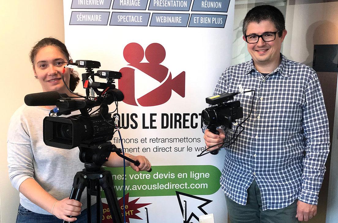 A VOUS LE DIRECT a été fondé par Michel Zaouia et Karine Zaouia