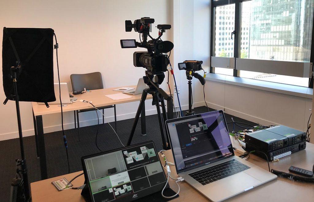 Bureau de tournage webinaire