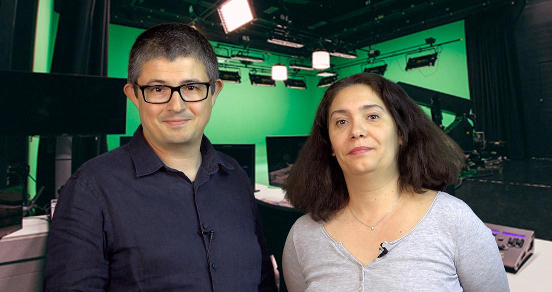 Michel Zaouia et Karine Zaouia, Co-fondateurs d'A VOUS LE DIRECT
